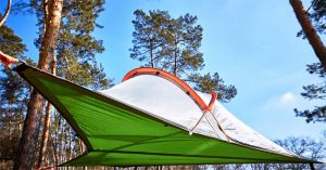 hanging hammock tent