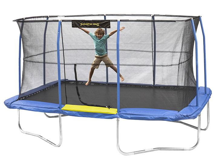 best rectangle trampoline for tumbling