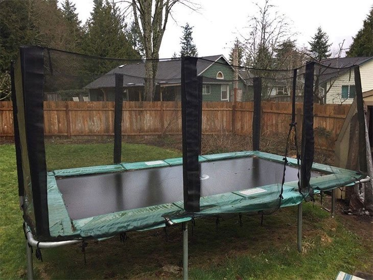 best rectangle trampoline brands